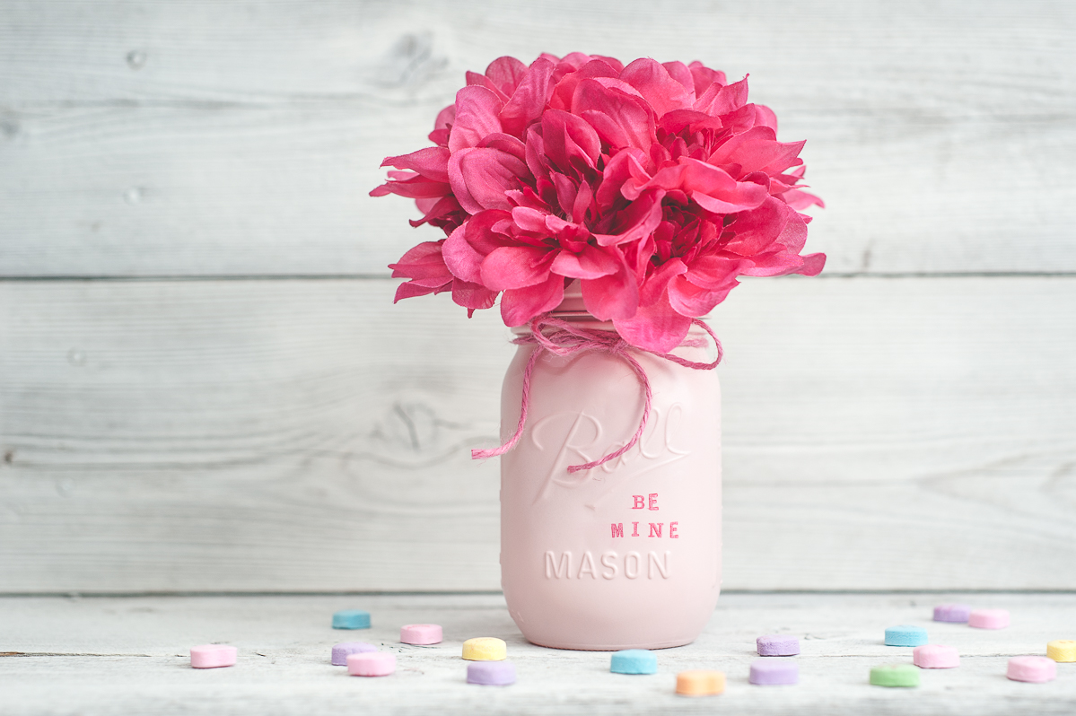 Valentine's Day Mason Jar Decor or Gift Jars